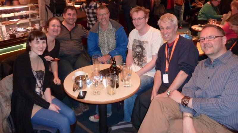 Edinburgh film festival group photo Screenwriters