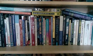 Some of my screenwriting books.